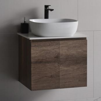 Baron Stainless Steel Basin Cabinet with Solid Top