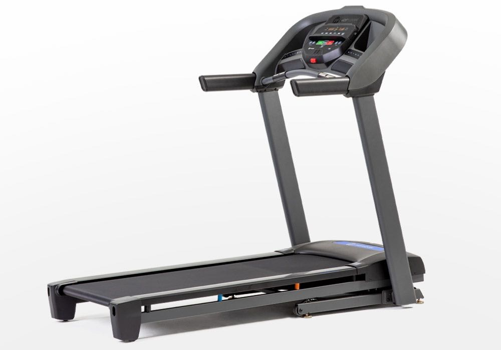 the Horizon Fitness T101 Treadmill