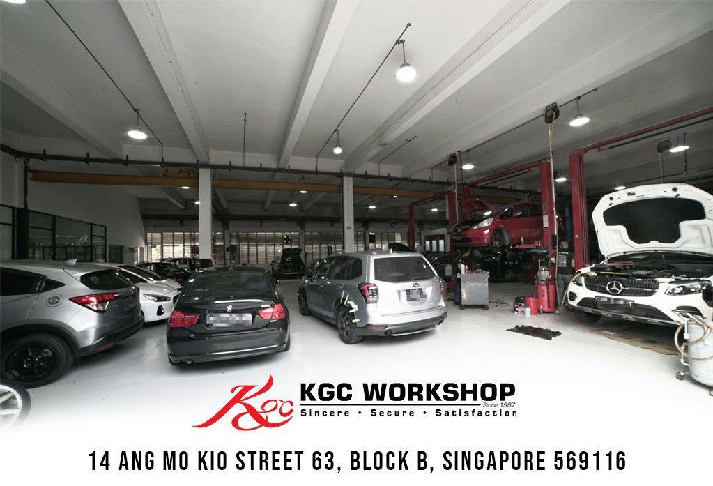 View of KGC workshop