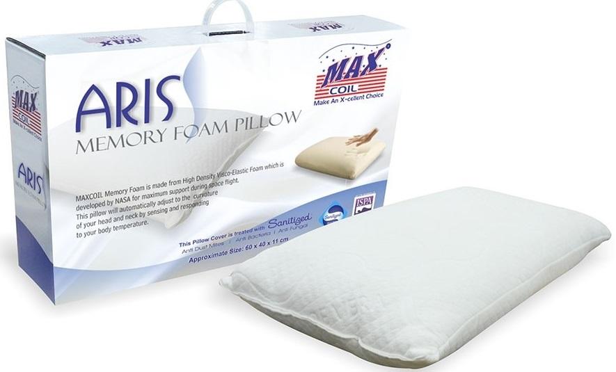 MaxCoil Alfa Memory Foam Pillow