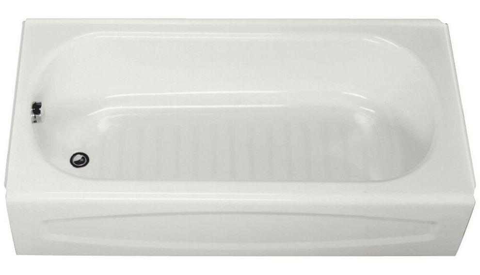American Standard New Salem 60 Inch by 30 Inch Integral Apron Bathtub