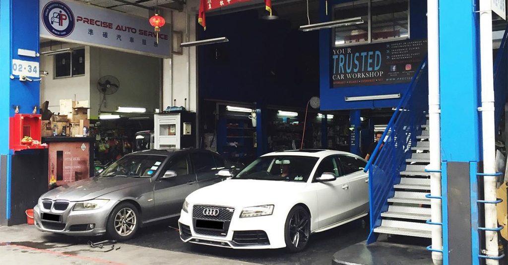 entrance of Precise Auto Service