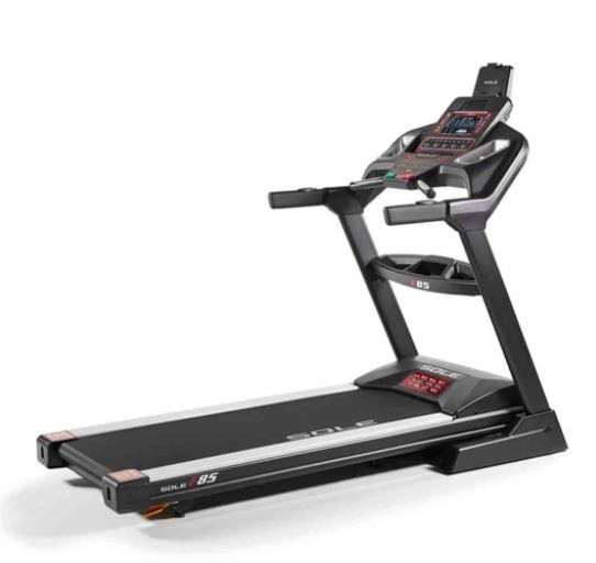 the Sole F85 2020 model treadmill