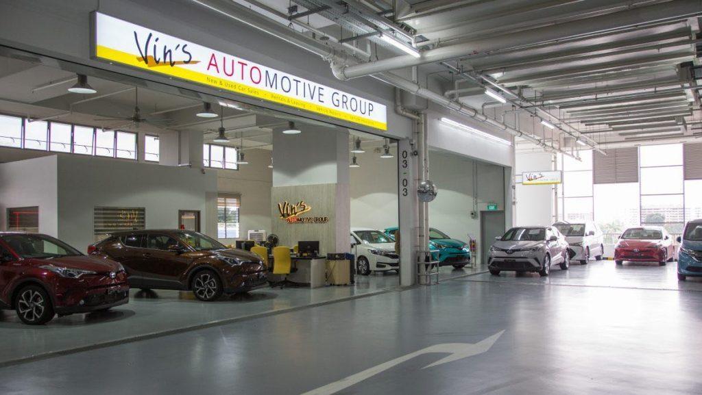 entrance of Vin's Automotive