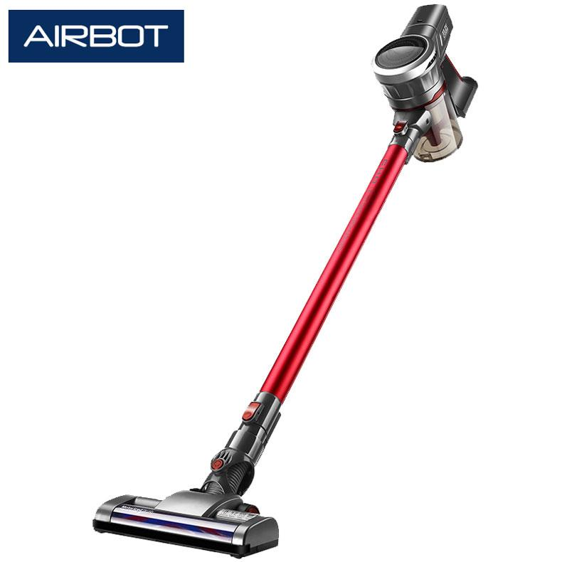 Airbot Supersonics 2.0 (Red) 19KPa 45mins New Cyclone Filtration Carpet Boost Cordless Vacuum Cleaner Portable Car Vacuum