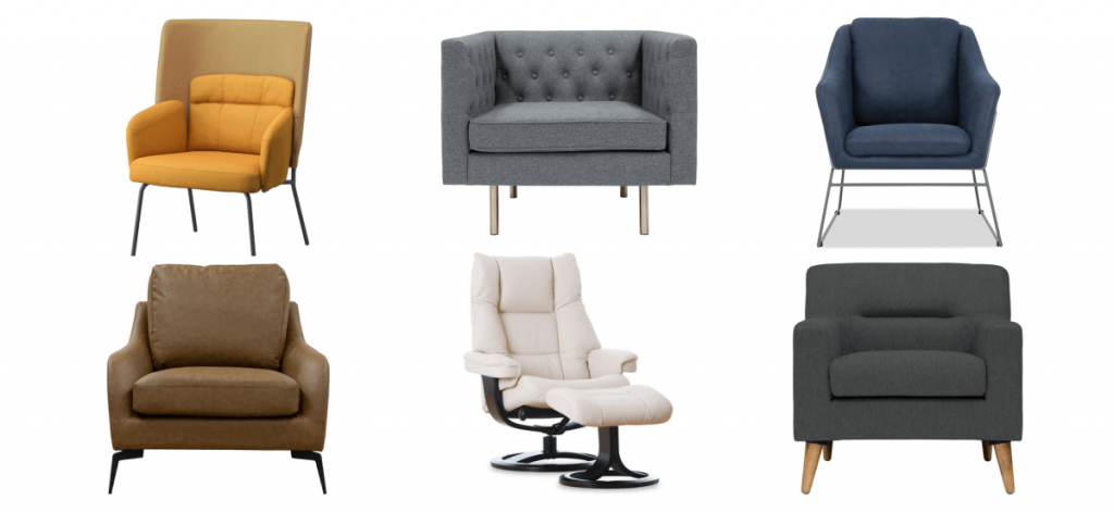 best armchairs in singapore