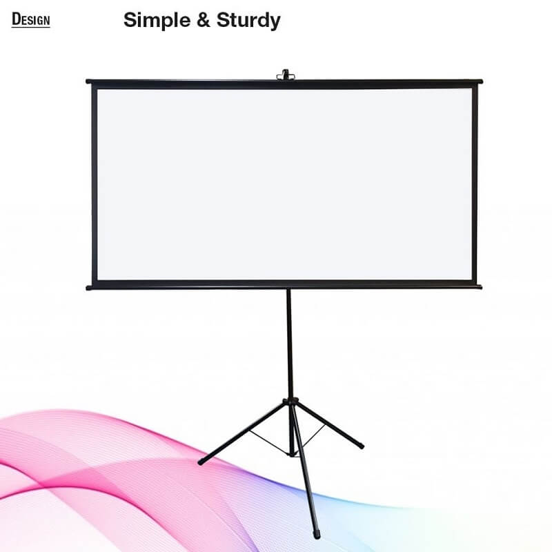 BIGSHINE EZ Tripod Projector Screen
