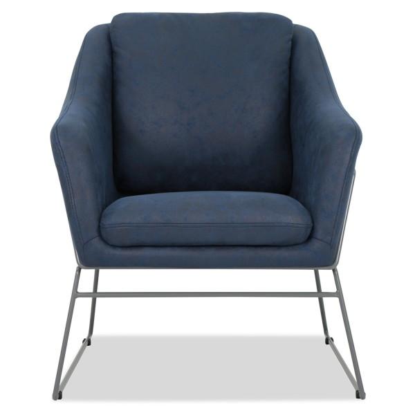 Cale Designer Armchair - Midnight Blue