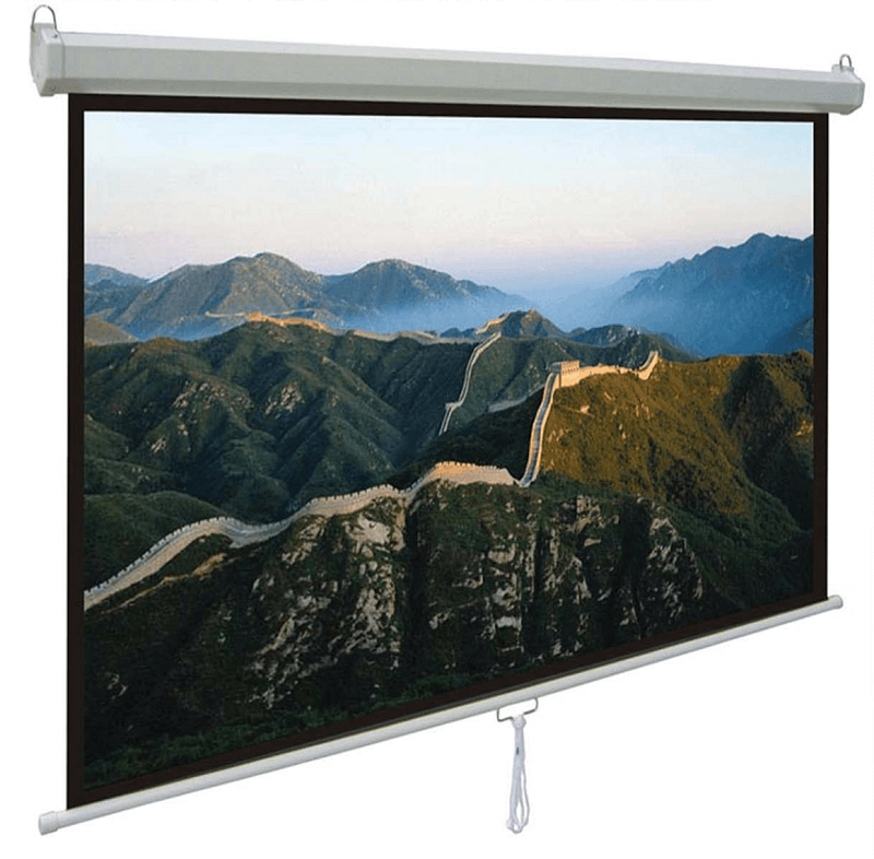 Comm Manual Pull-Down Wall Screen CP-MA70