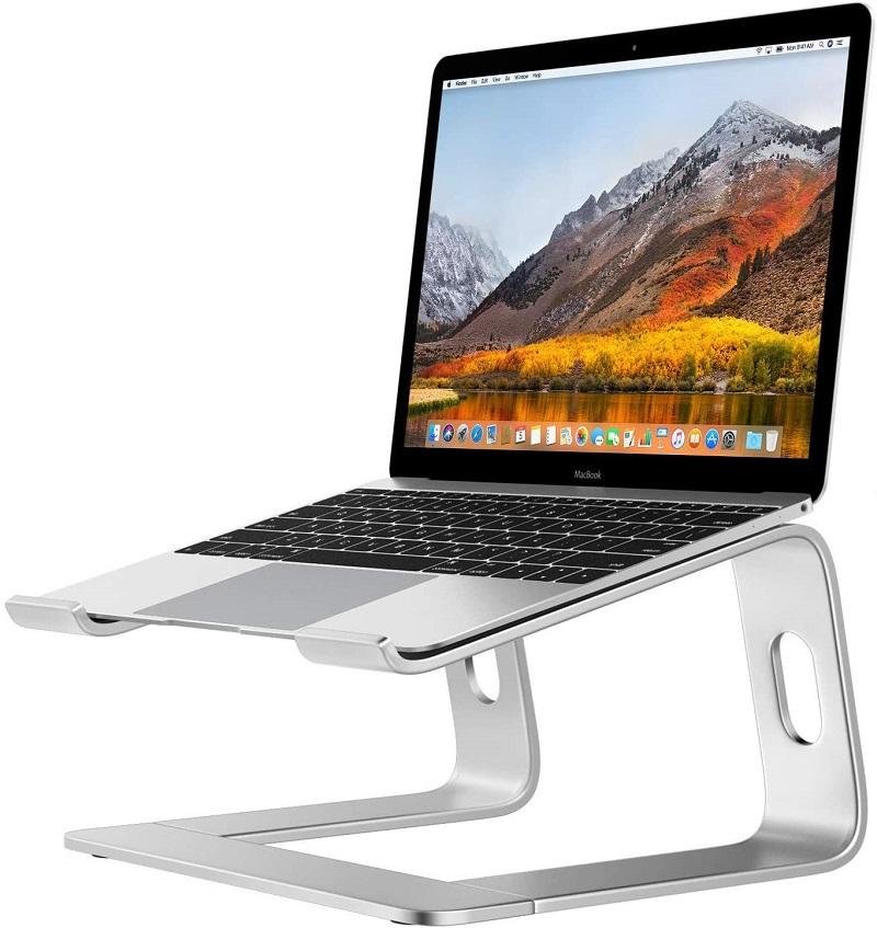 Desire2 Laptop Stand, View Ergonomic Aluminum Laptop Computer Stand, Detachable Laptop Riser Notebook Holder Stand