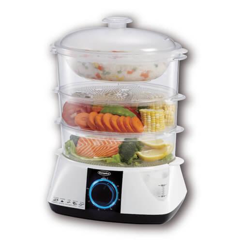 EuropAce Food Steamer - EFS A121