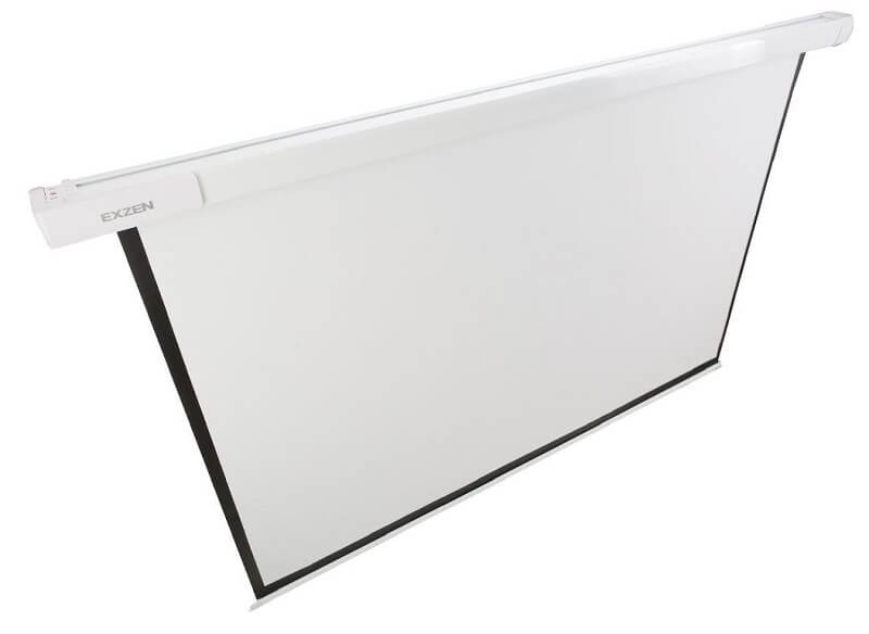 EXZEN 100 Inch (1:1) Semi Buffer Projector Screens