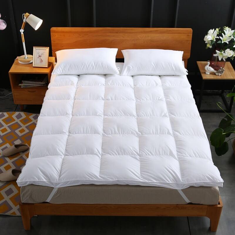 iSleep 100% Cotton Cover Topper-400 TC