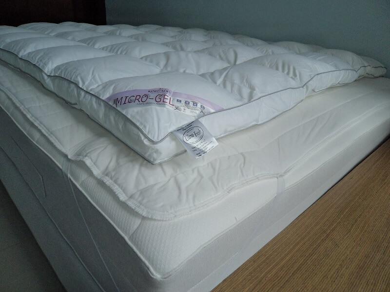 King Koil Micro Gel Plush Comfort Topper