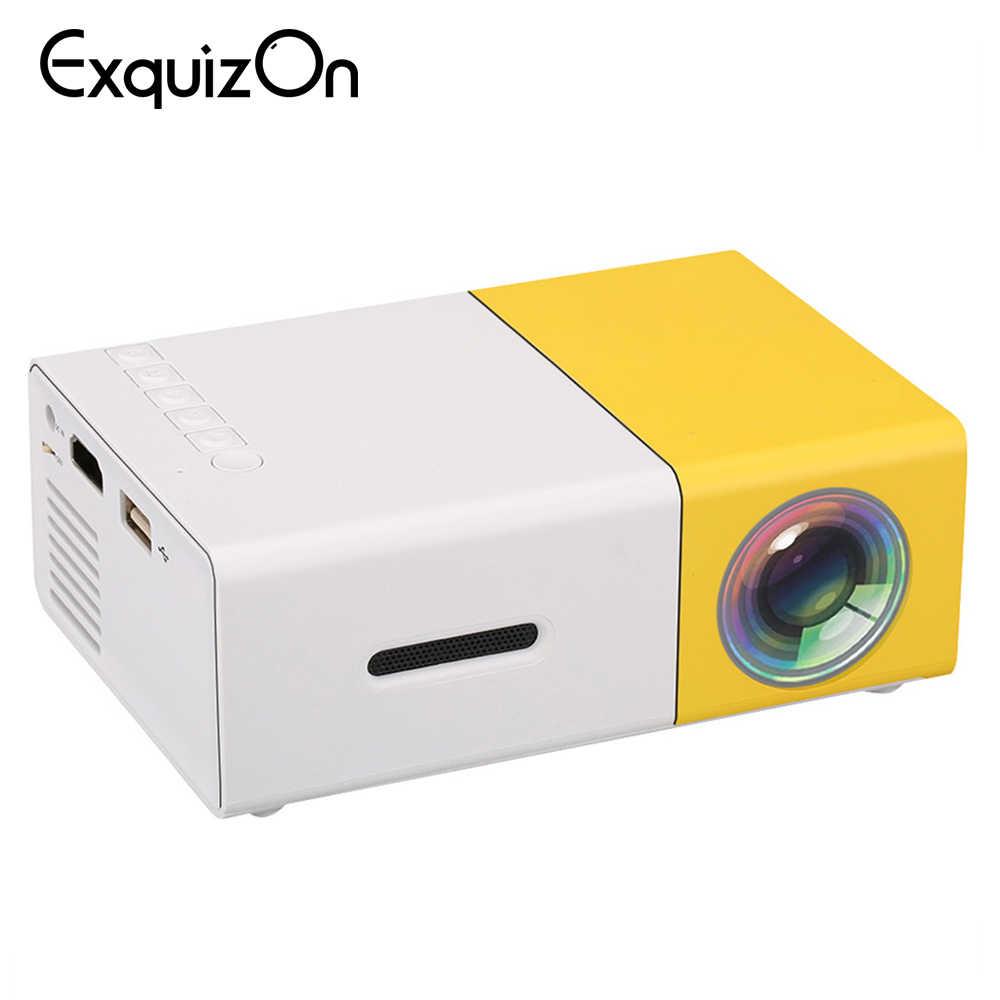 Mini Portable YG300 LED 3d Home Theater Projector HD 1080p Cinema SD AV USB HDMI