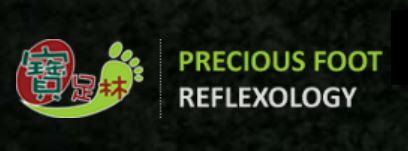 Precious foot reflexology and massage