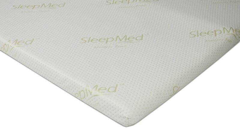 SleepMed Memory Foam Topper