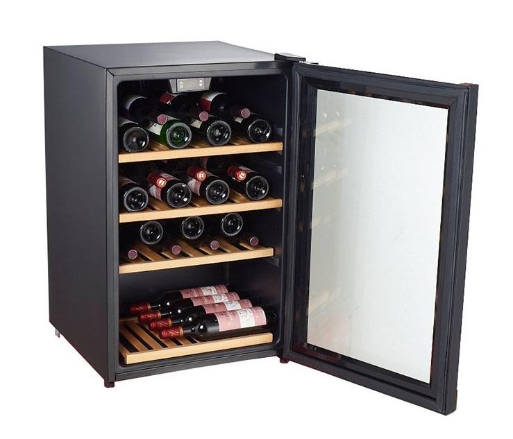 Tecno Twc133cdn 40 Bottles Wine Chiller (Black)