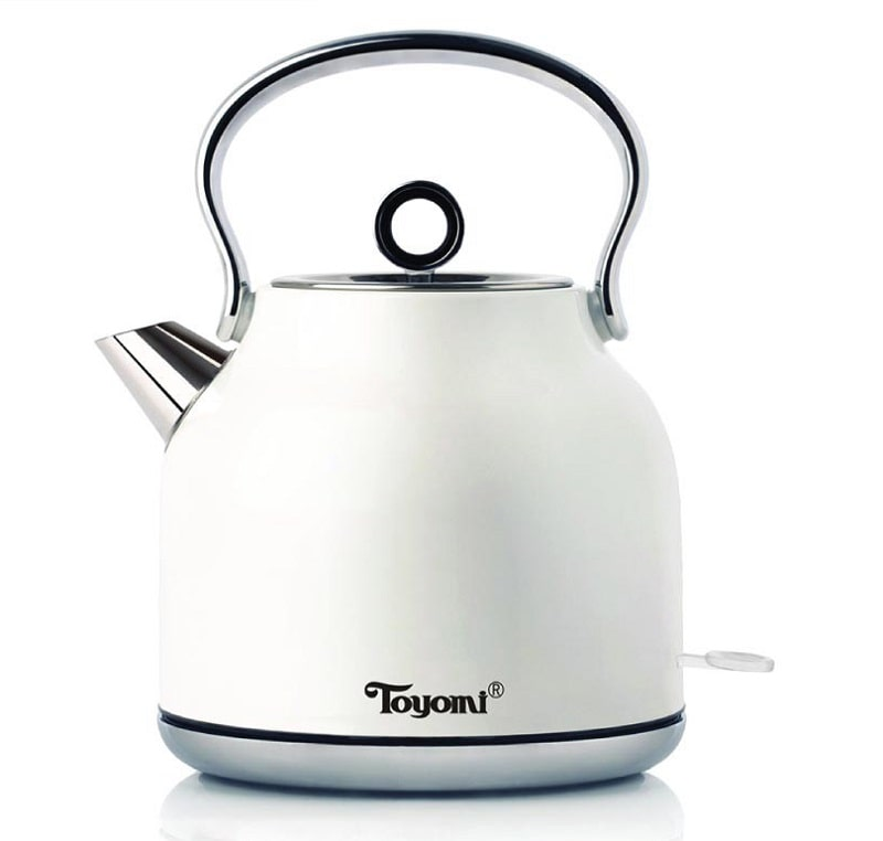 Toyomi Cordless Stainless Steel Kettle