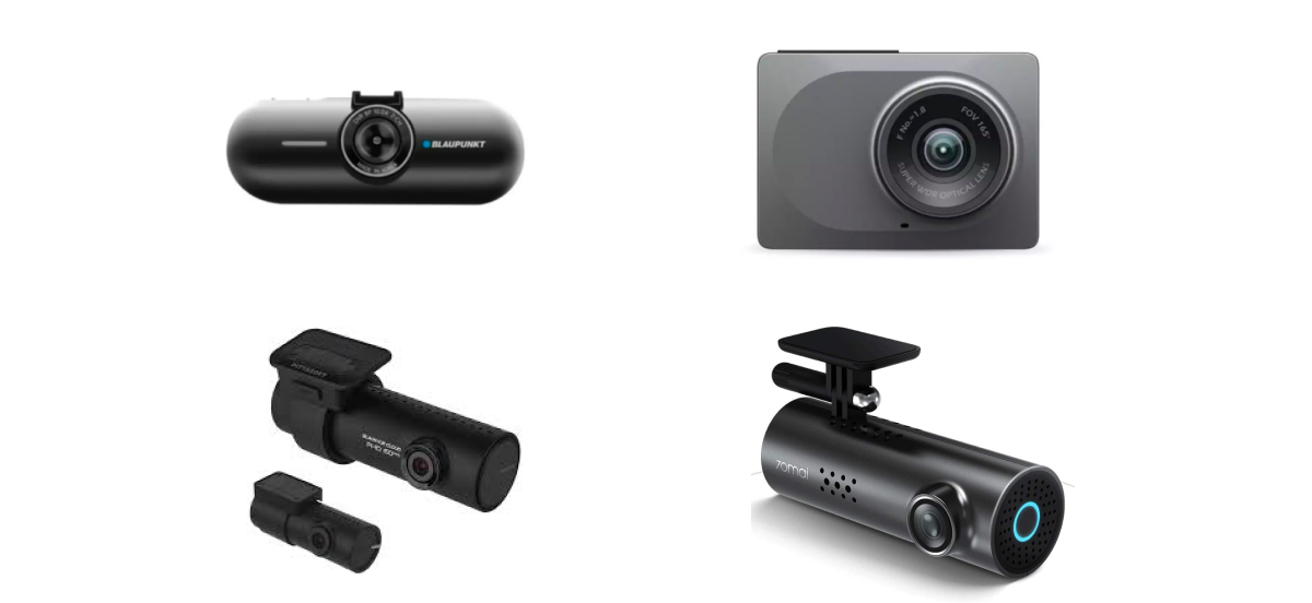 collage of the best car cameras in Singapore