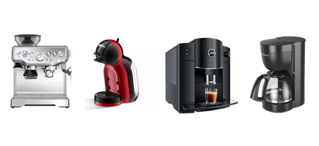 collage of the best coffee machines in Singapore