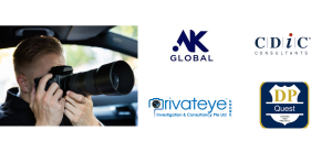 logo collage of the best private investigators in Singapore