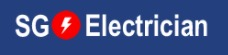 Logo of SG Electrician, one of the best TV repair companies in Singapore