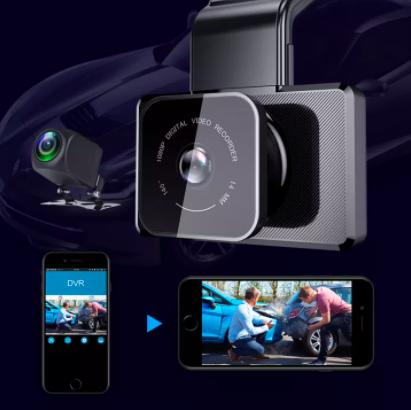the EKLEVA Dashcam Car DVR Camera