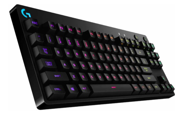 the Logitech G PRO X Mechanical RGB Gaming Keyboard