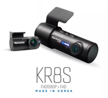 the Marbella KR8S FHD1080P 2 CH Dual Cam Recorder