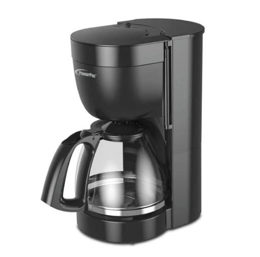 the PowerPac Coffee Maker 1.25L Drip Style Coffee Machine