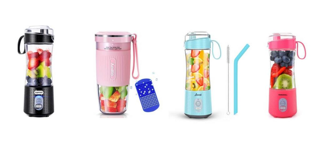 collage of the best portable blenders in the US