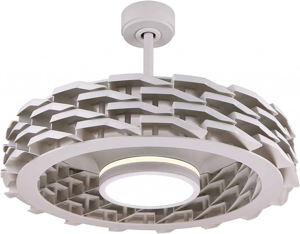 LUMIO Bladeless Ceiling Fan