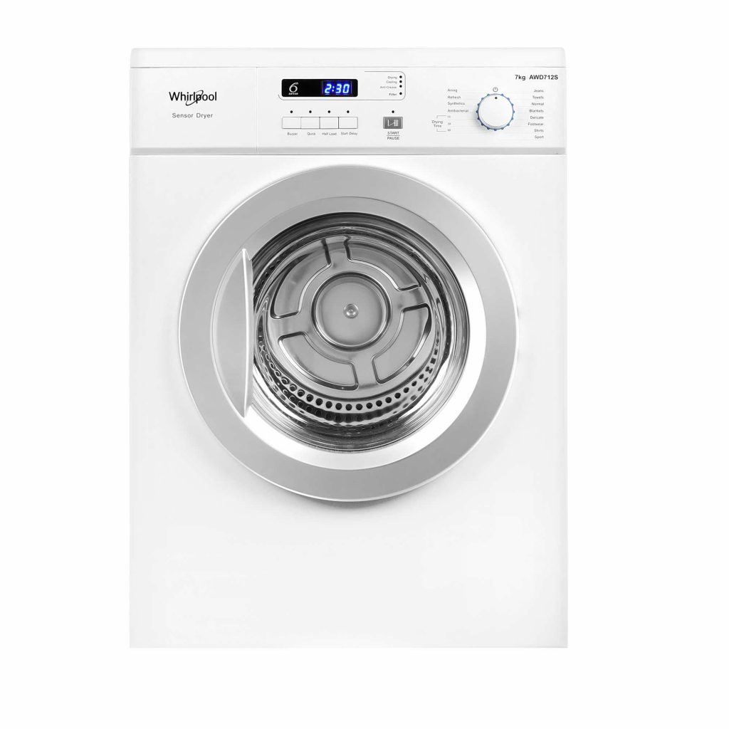 Whirlpool AWD712S Air-Vented