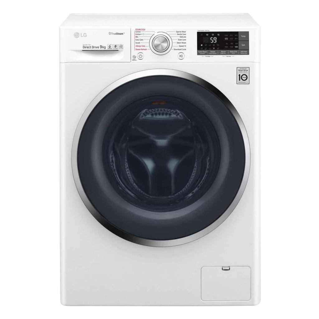 LG TWC1409S2W 9KG Inverter Direct Drive Front Load Washing Machine
