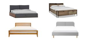 photos of different bed frames in Singapore