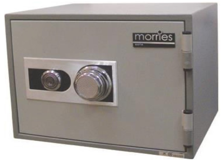 Morries Fire Resistant Dial Safe Box MS-16S
